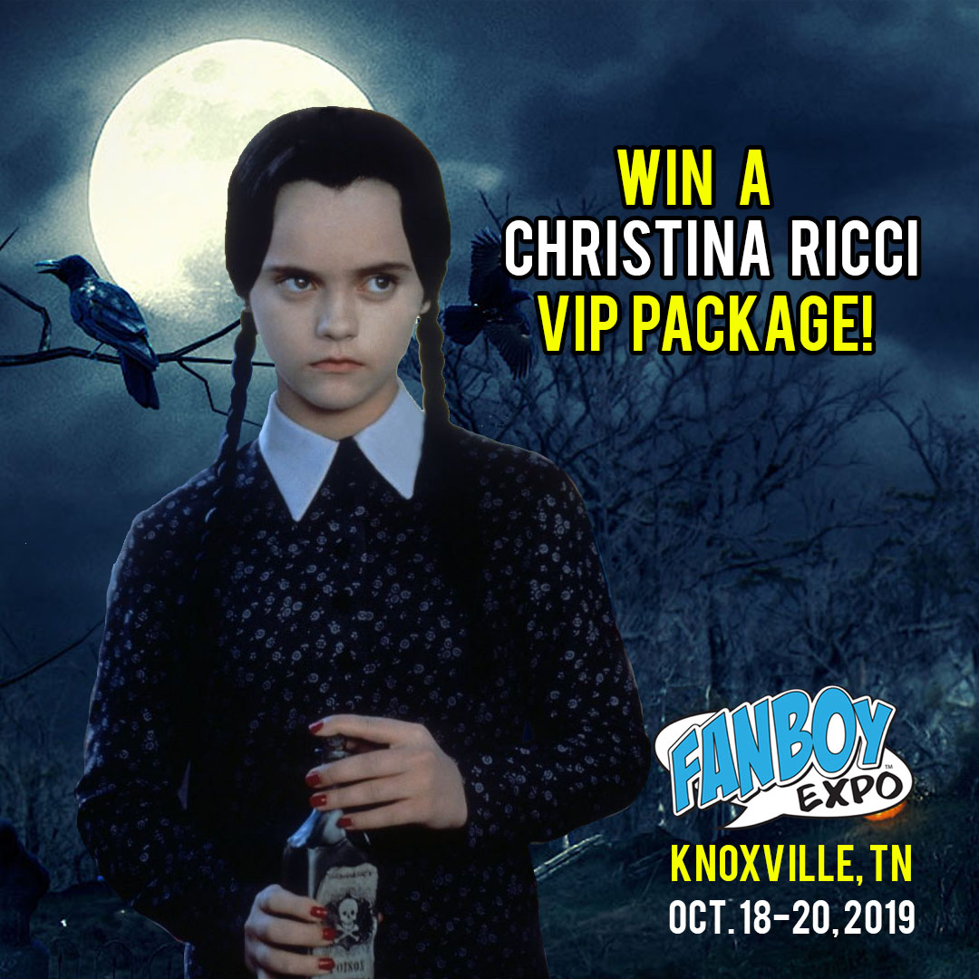 Vip Special Event Space Llc: Win A Christina Ricci VIP Package